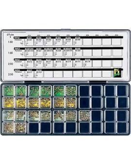 COURONNES DEMI-BOULE, ASS.  420 PCS 99063