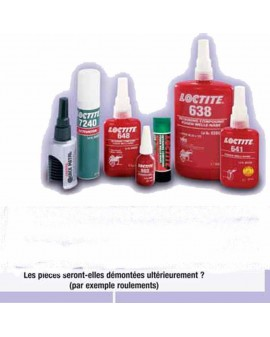 COLLE LOCTITE 638 FIXATION DES EMMANCHEMENTS, 250 ML