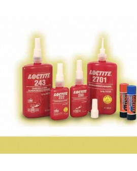 COLLE LOCTITE 2701 FREINAGE DES FILETAGES, 250 ML