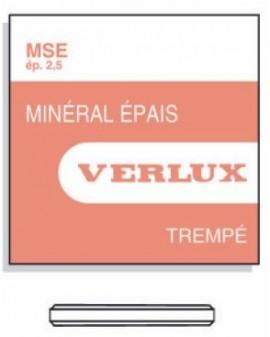 VERRE MINERAL 2,50mm Ø 450