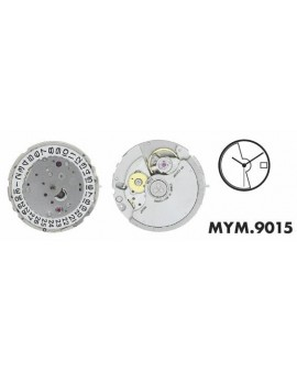 Mouvement Citizen-Miyota 9015 Automatique 3H