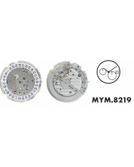 Mouvement Citizen-Miyota 8219 Automatique 3H