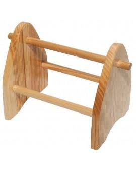Support en bois pour pinces  L 250 mm
