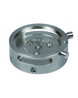Round movement holder with 2 pushers.  ETA G10211/711