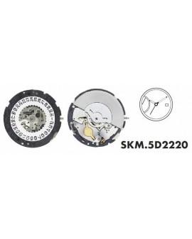 Mouvement Seiko 5D2220