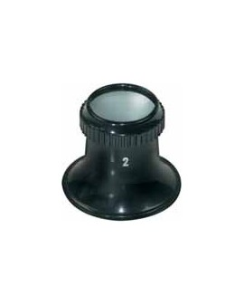 Magnifier with screw ring, N 1.0 00002-1
