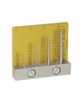 Gauge for calibrating...