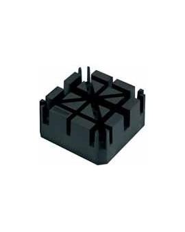 UNIVERSAL BLACK PLASTIC BRACELET HOLDER