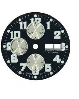 Black dial-Black dial Ø 33.50