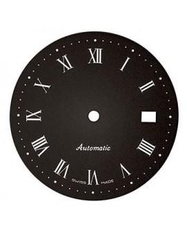Cadran noir-Black dial Ø 31.50