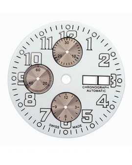 Cadran blanc-White dial Ø 33.50 mm