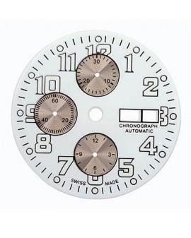 White dial-White dial Ø 33.50 mm