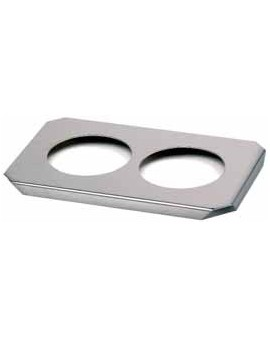 Stainless steel tray for 2...