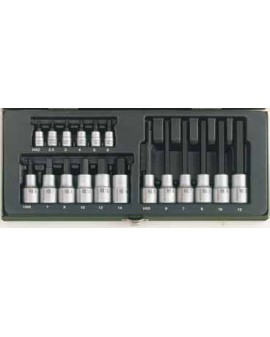 "Proxxon 23100 ""hex"" 18 piece set"