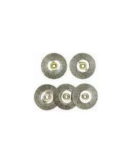 Brosse circulaire acier 5 pcs 28952