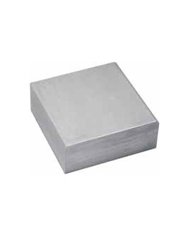Square-shaped anvil 100 x 100 x 20