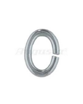 OVAL RINGSAg 6 MM 10 Pcs