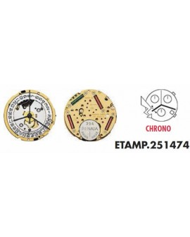 Movement ETA 251471 3H