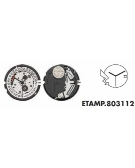 Mouvement ETA 803114-3H