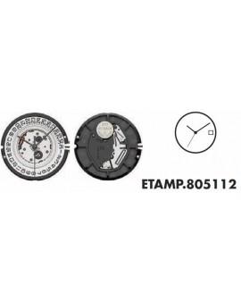 Mouvement ETA 805114-6H