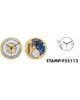 Movement ETA 955111-3H