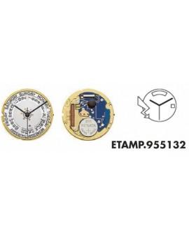 Movement ETA 955132-3H