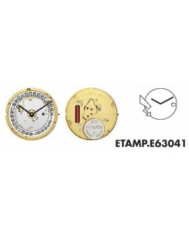 Movement ETA  E 63041 - ETA...