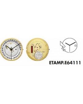 Mouvement ETA E64111 3H - 255111