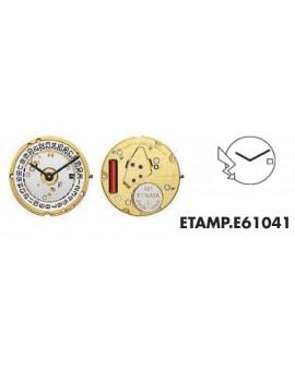 Movement ETA  E61041 - 256041