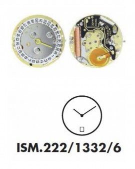 Mouvement ISA 222-1332 6H