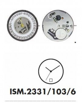 Movement ISA 2321-6H