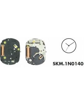 Mouvement Seiko 1N0140 hauteur d'aiguille 0.95