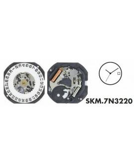 Mouvement Seiko 7N32-3H