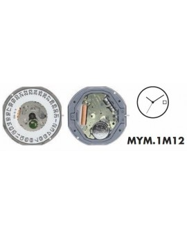 Movement Citizen-Miyota 1M12-3H
