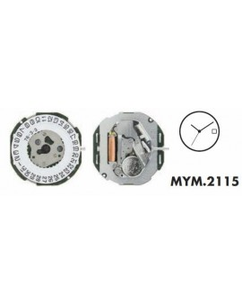 Mouvement Citizen-Miyota 2115-3H