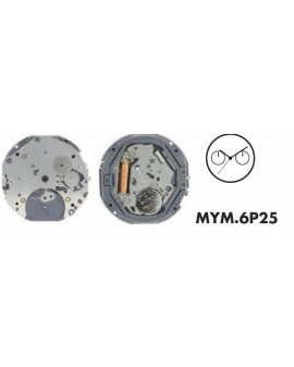 Movement Citizen-Miyota 6P25