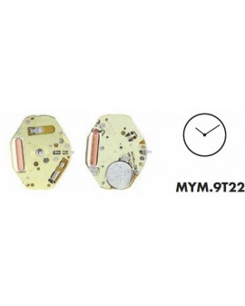 Mouvement Citizen-Miyota 9T22