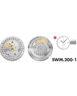 Movement Sellita SW200-1 automatique 3H
