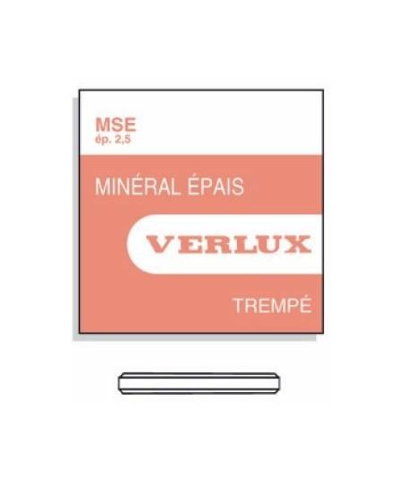 MINERAL GLASS 2,50mm MSEØ 323