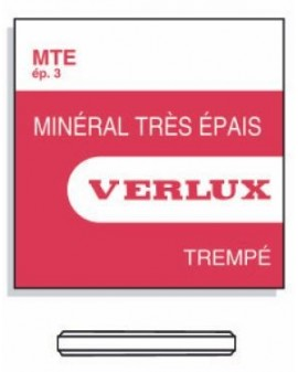 MINERAL GLASS 3,00mm MTEØ 314
