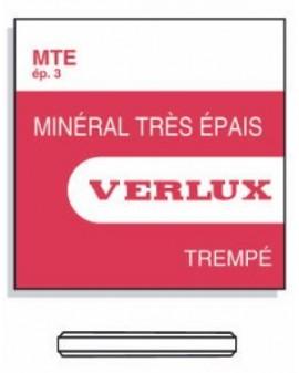 MINERAL GLASS 3,00mm MTEØ 333