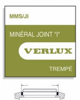 MINERAL GLASS WITH SEAL 1,00mm MMS-JIØ 145