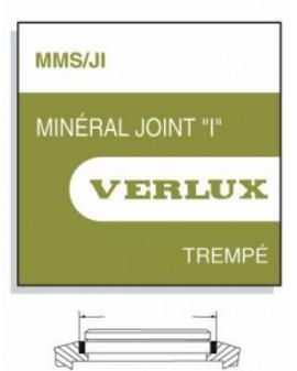 MINERAL GLASS WITH SEAL 1,00mm MMS-JIØ 149