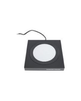 BLACK ALUMINIUM TABLE SUPPORT FOR TRANSMITTED LIGHTING
