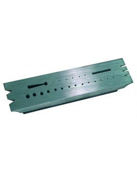 Hardened steel riveting stake