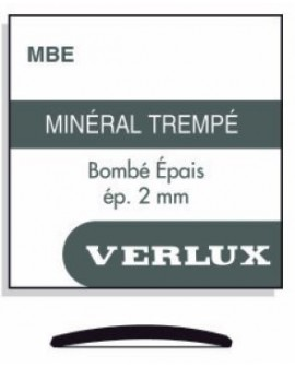 VERRE MINERAL BOMBE 2,00mm...