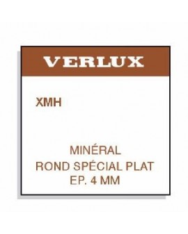 Verre minéral spécial très épais 4mm Ø 325 XMH