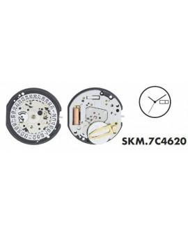Movement Seiko 7C4620