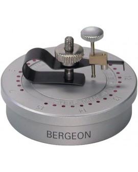 "Seitz"" tool to straighten the pivots of the balance pin"