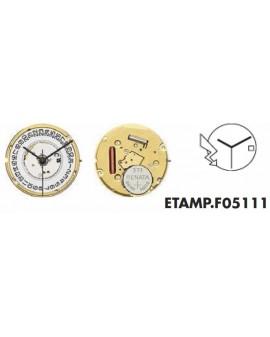 Movement ETA F05111-3H Aig...